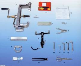 Werkzeugkoffer UCN UC VATK Muffen - Bild vergrößern