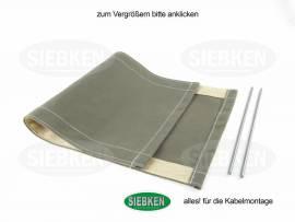 Ersatztuch für Löterhocker - Bild vergrößern