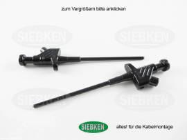 SKS Klemm-Prüfspitze sw - Bild vergrößern